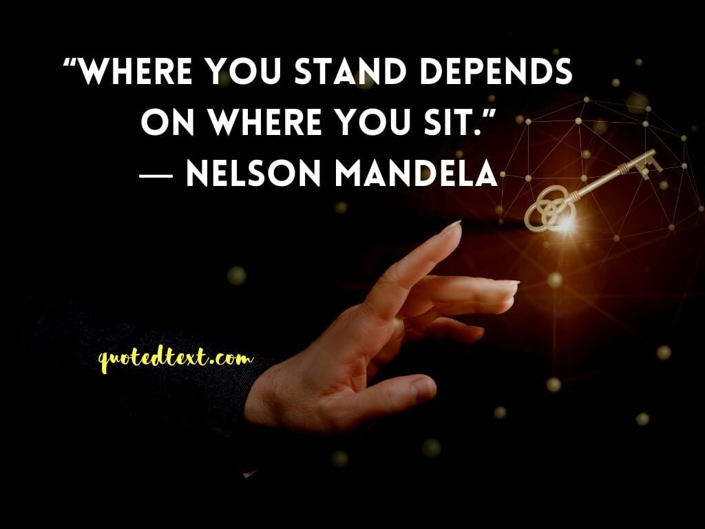 nelson mandela quotes on values