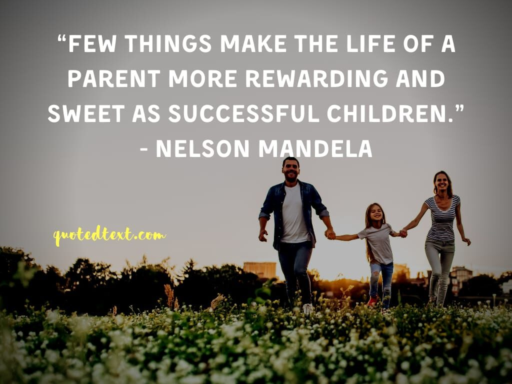 nelson mandela quotes on parent and children