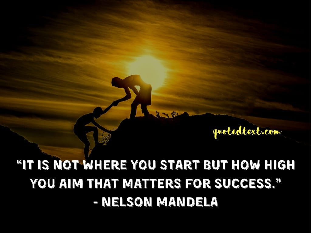 nelson mandela quotes on success