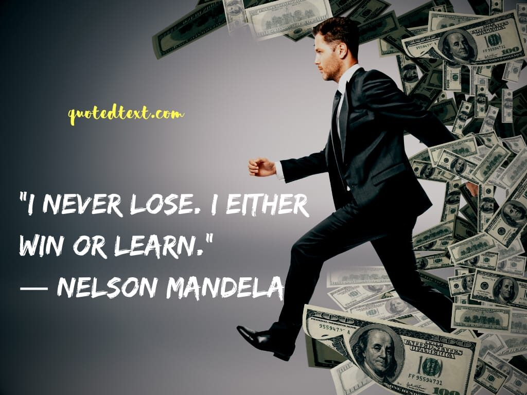 nelson mandela quotes on winning