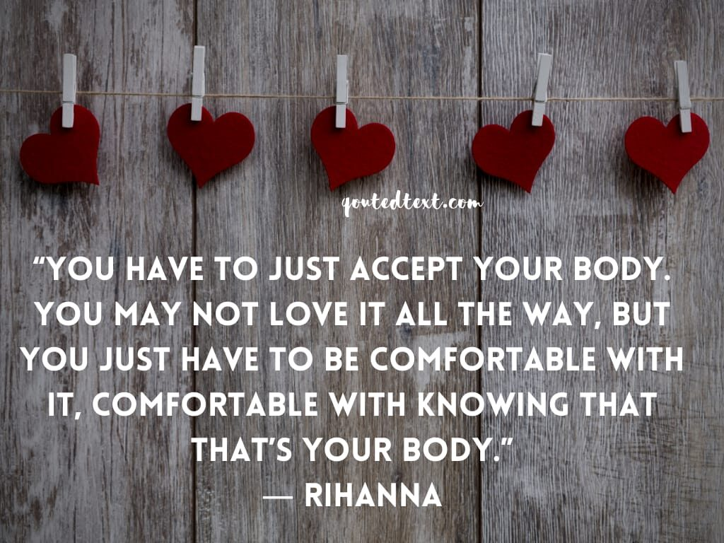rihanna quotes on accept yourself