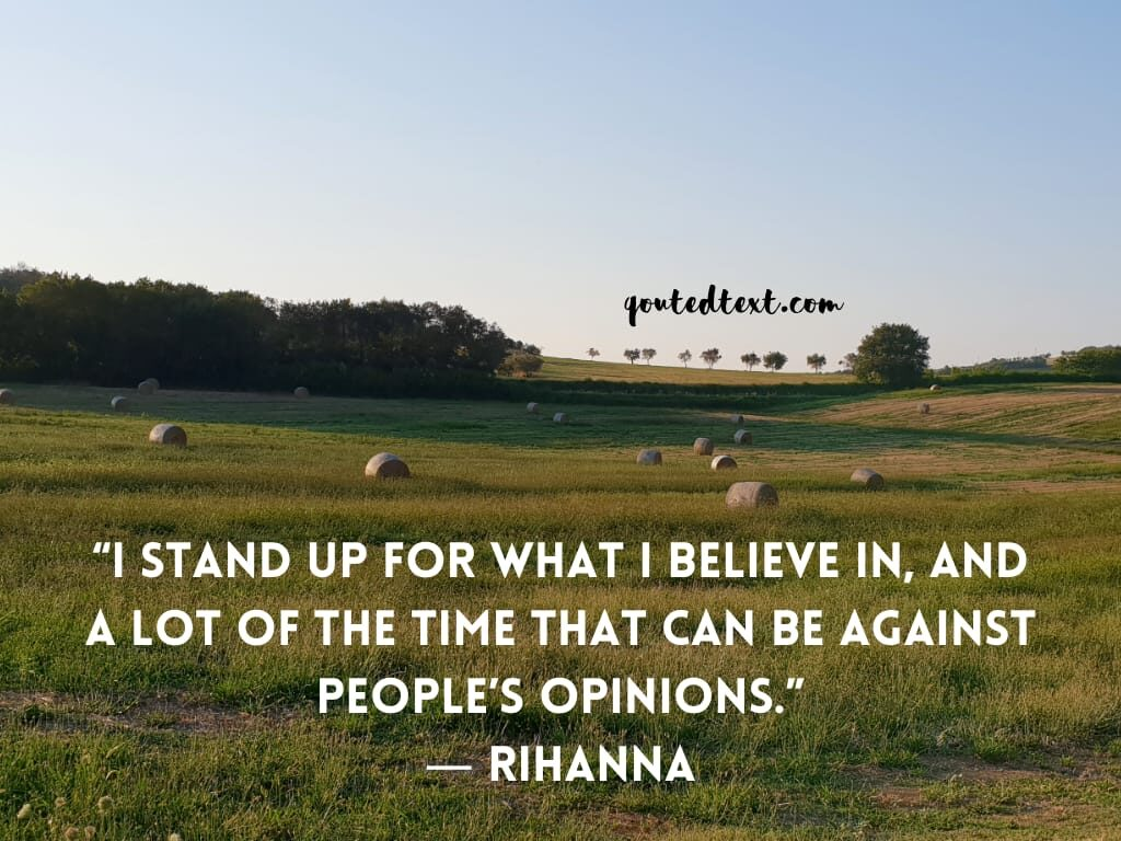 rihanna quotes on believe