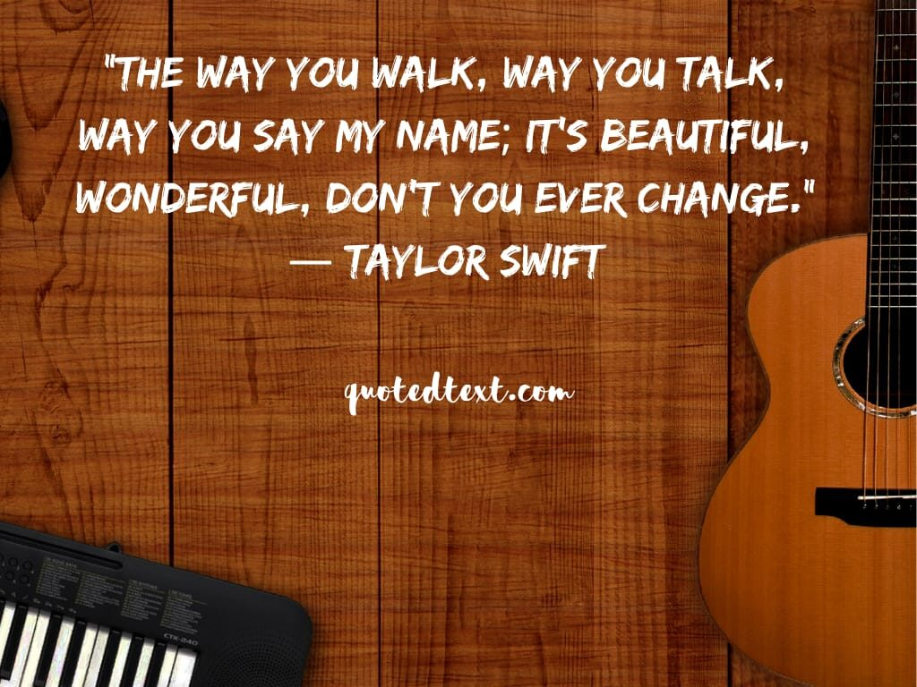 taylor swift quotes on be youself