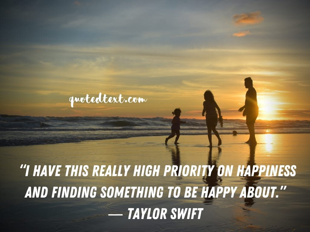 taylor swift quotes on happiness