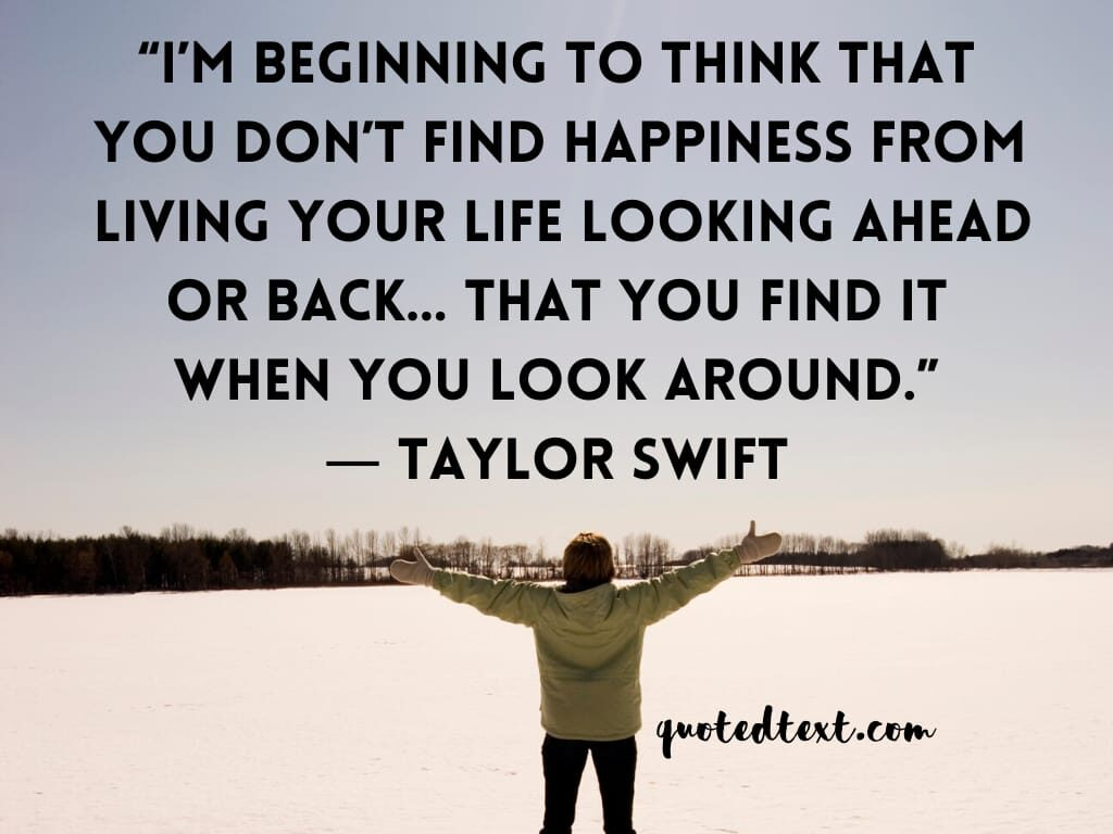 taylor swift quotes on beginning