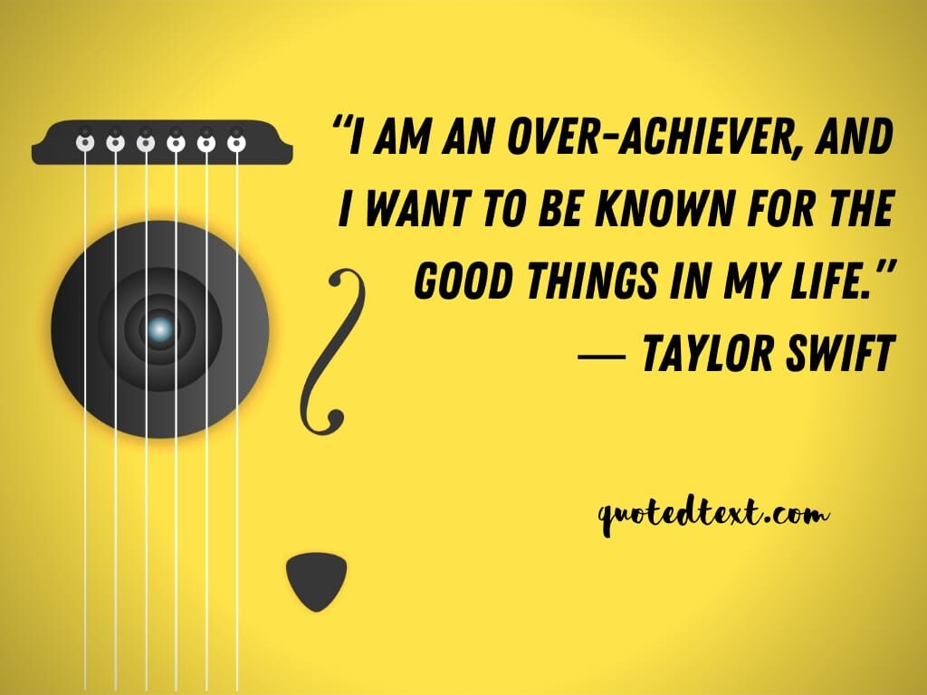 taylor swift quotes on achieving