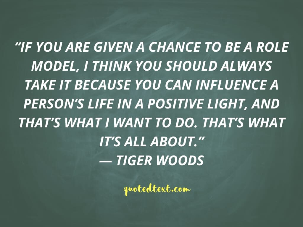 tiger woods quotes on chance