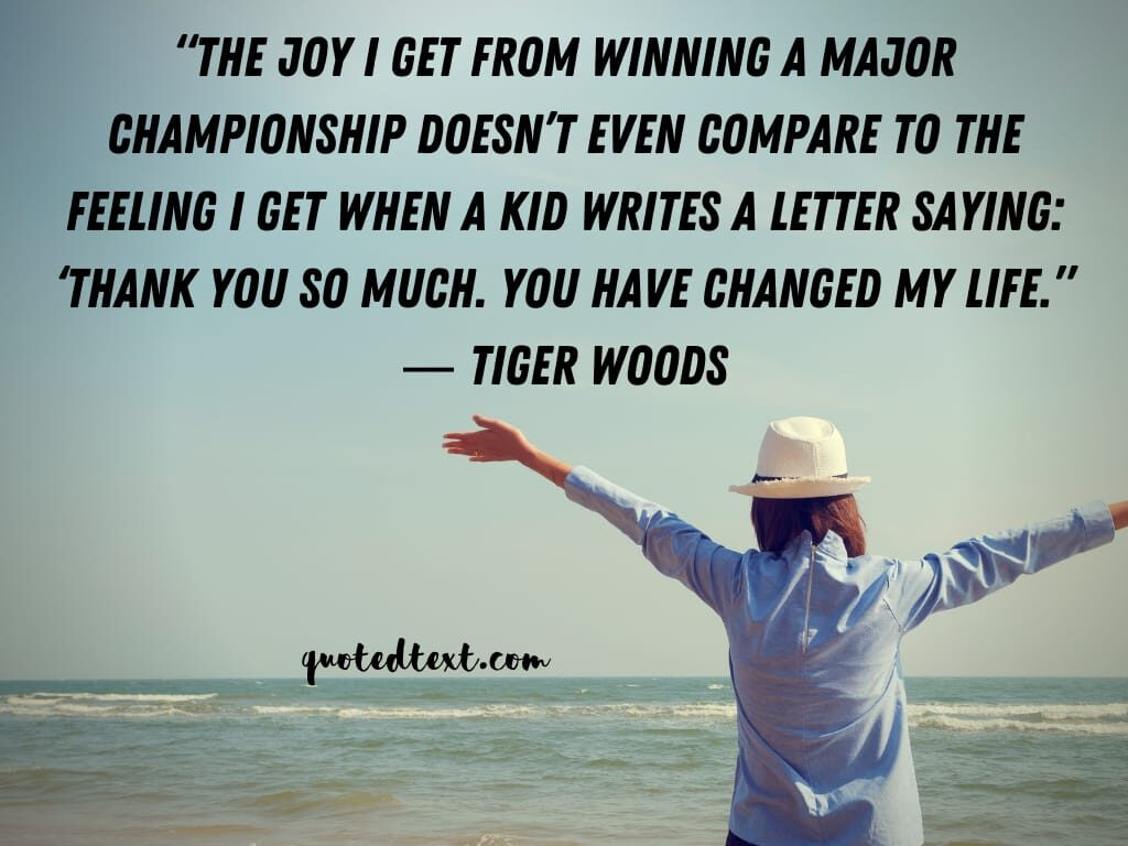 tiger woods life quotes