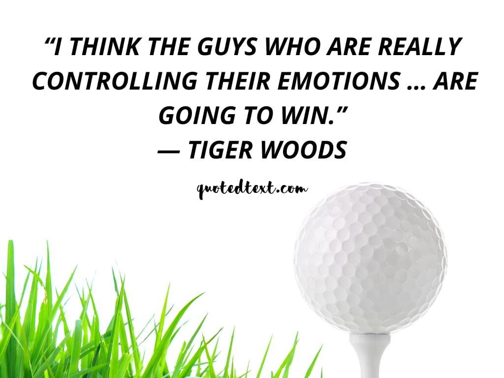 tiger woods quotes on emotions