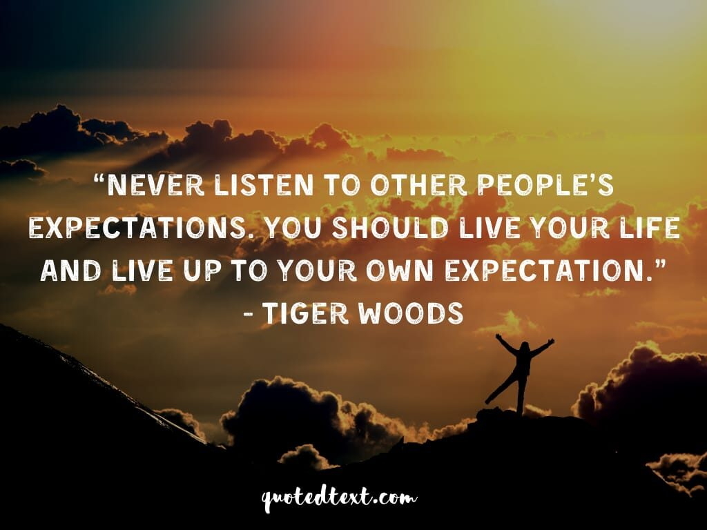tiger woods quotes on life
