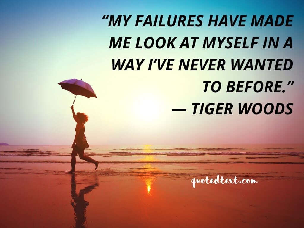 tiger woods quotes on failures