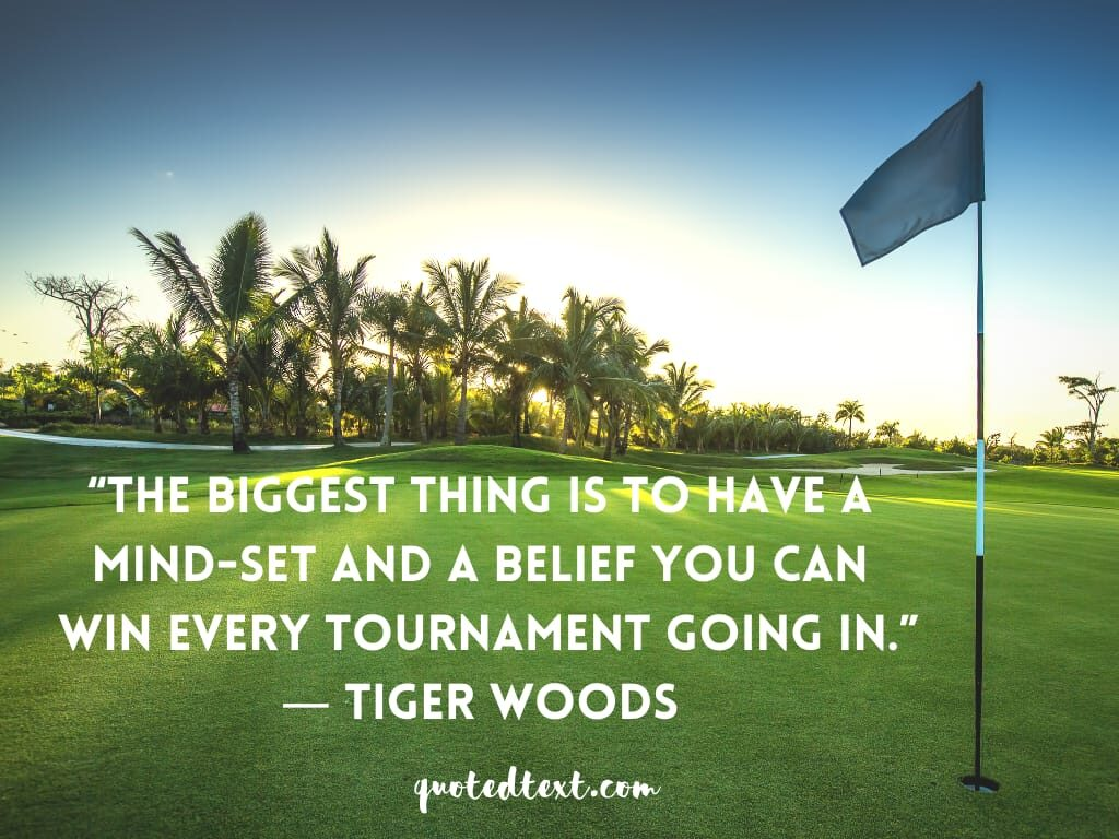 tiger woods quotes on mind-set