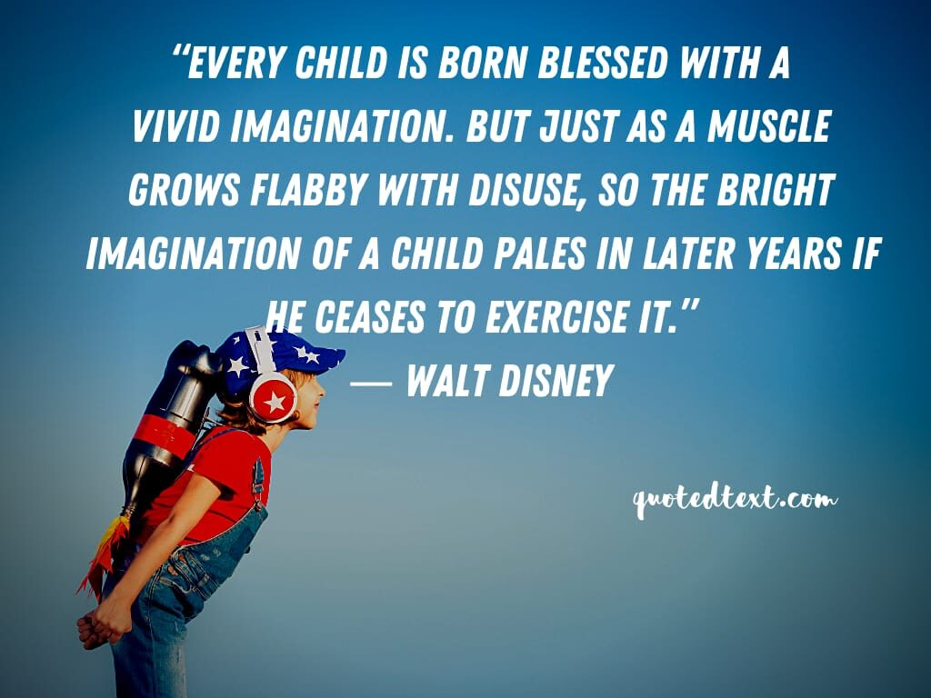 walt disney quotes on birth