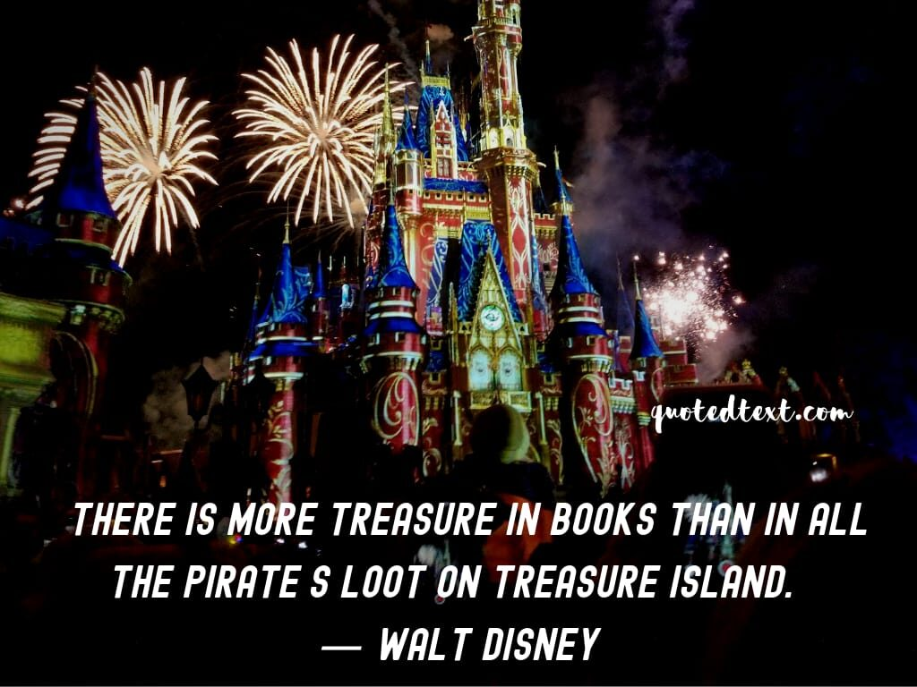 walt disney quotes on books