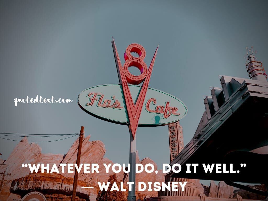 walt disney quotes on do good