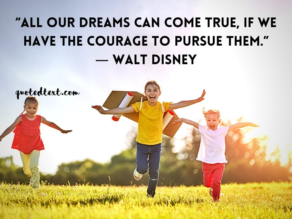walt disney quotes on dreams