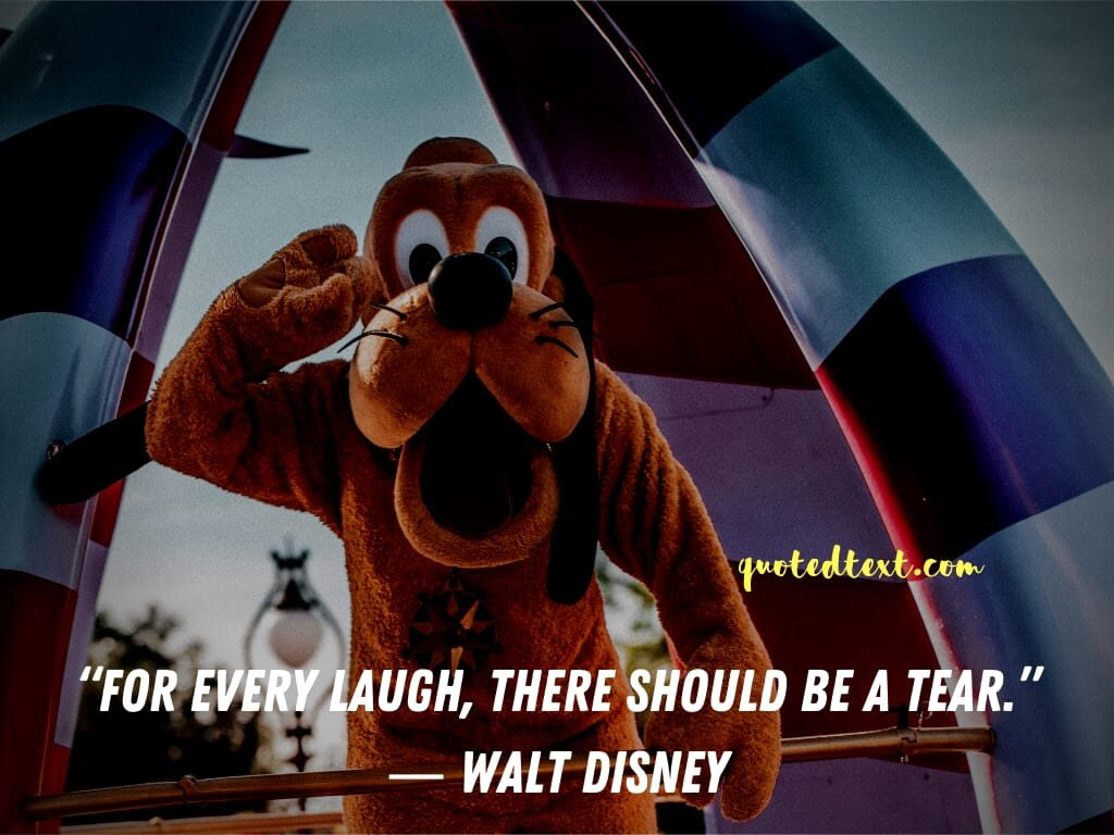 walt disney quotes on laughing