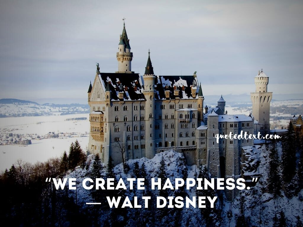 walt disney quotes on happiness