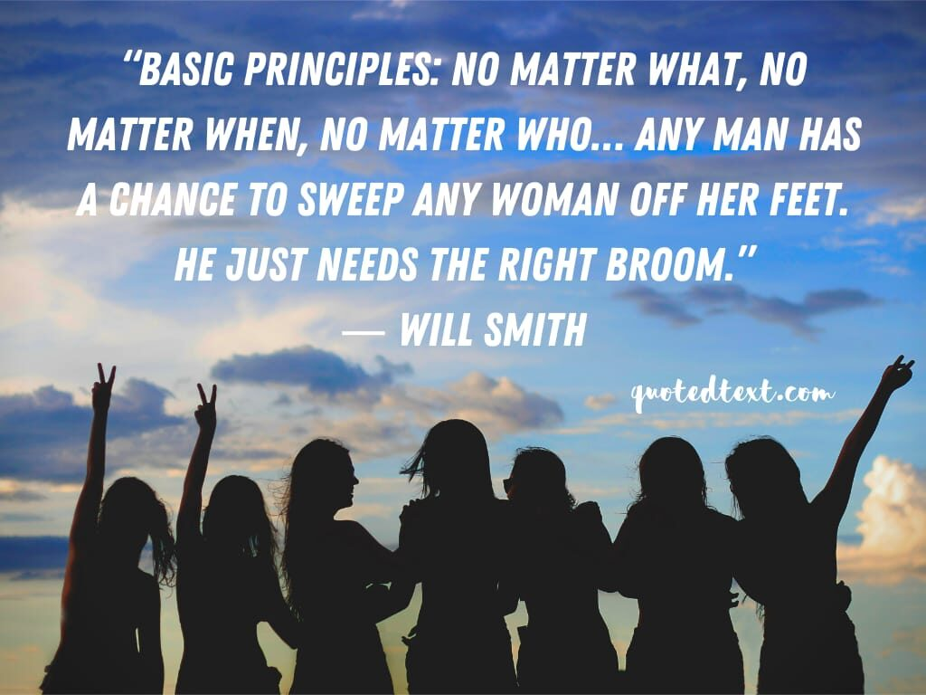 will smith quotes on woman