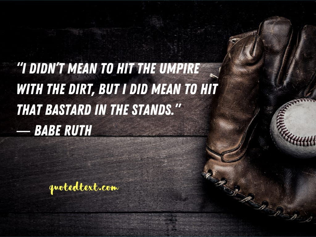 Babe Ruth quotes on playing basketball