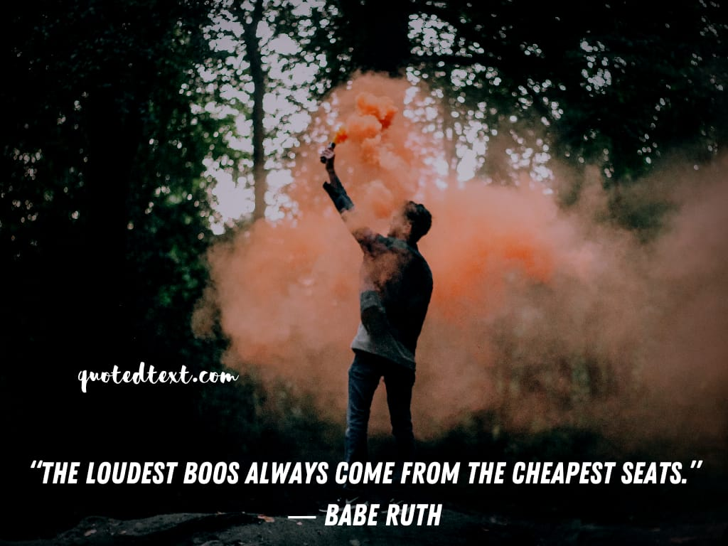Babe Ruth quotes on people