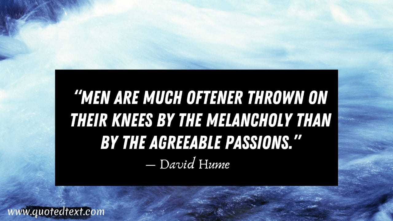 David Hume quotes on passion