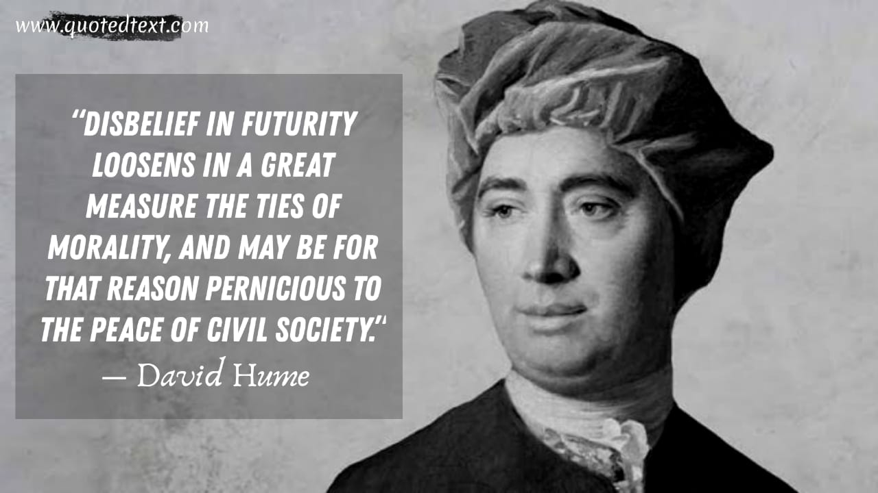 David Hume quotes on disbelief