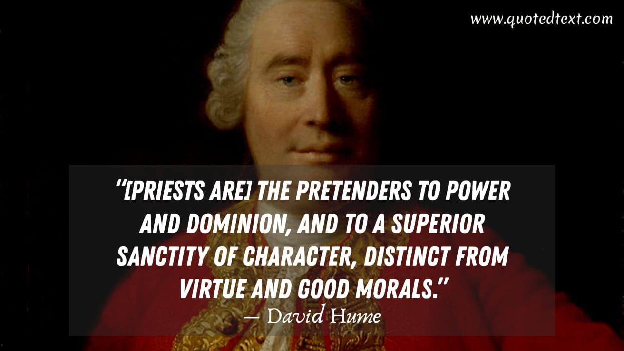 David Hume quotes on power and domination