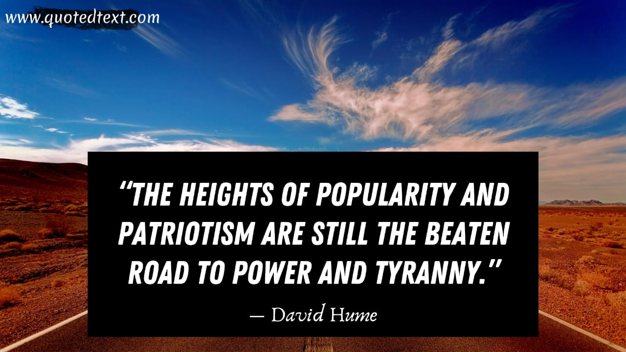 David Hume quotes on power
