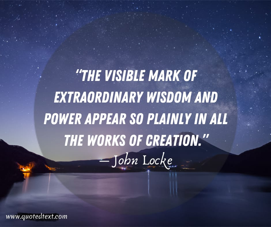 John Locke quotes on life