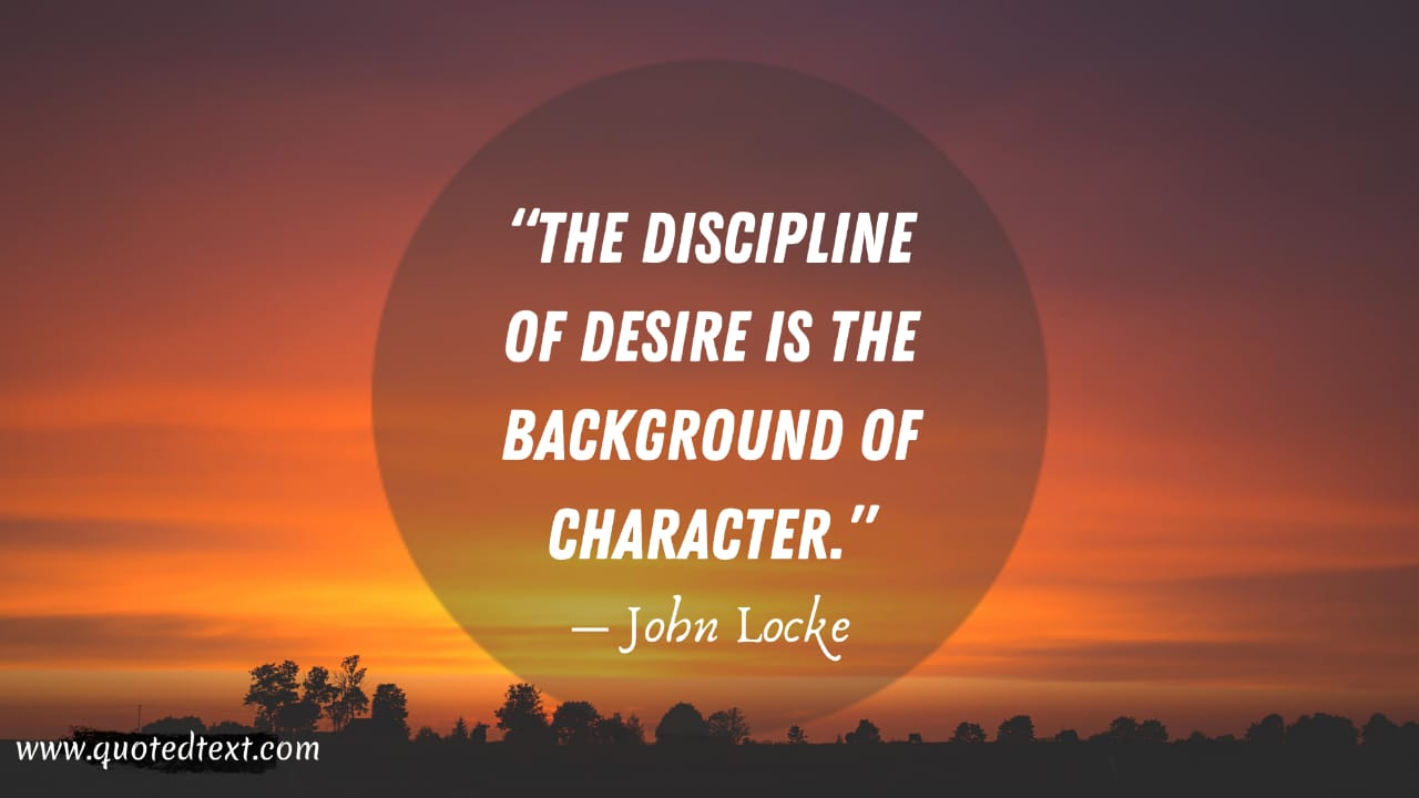 John Locke quotes on desire