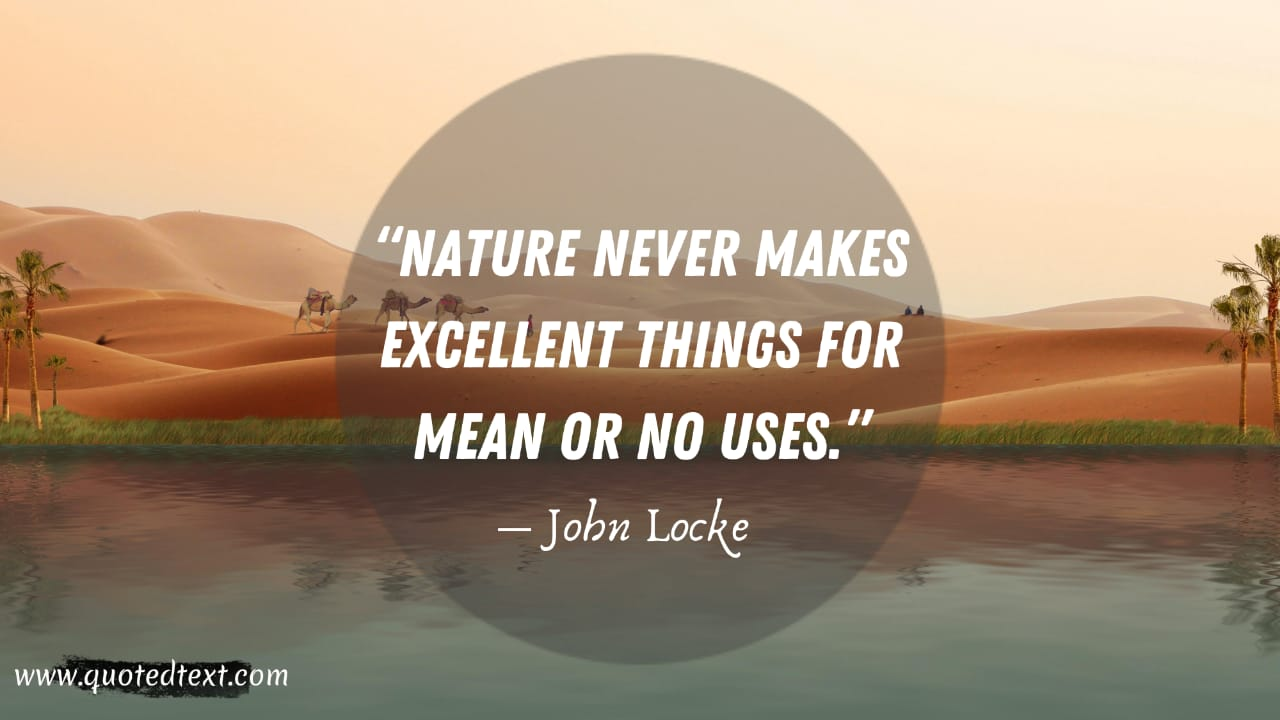 John Locke quotes on nature