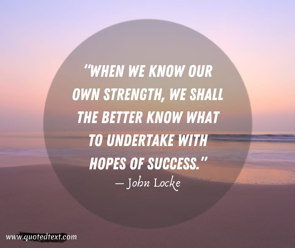 John Locke quotes on success
