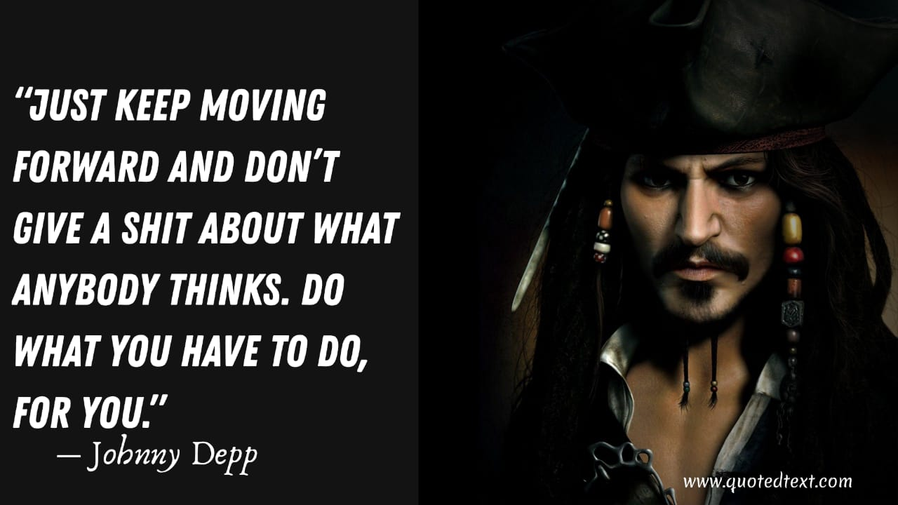 Johnny Depp motivational quotes