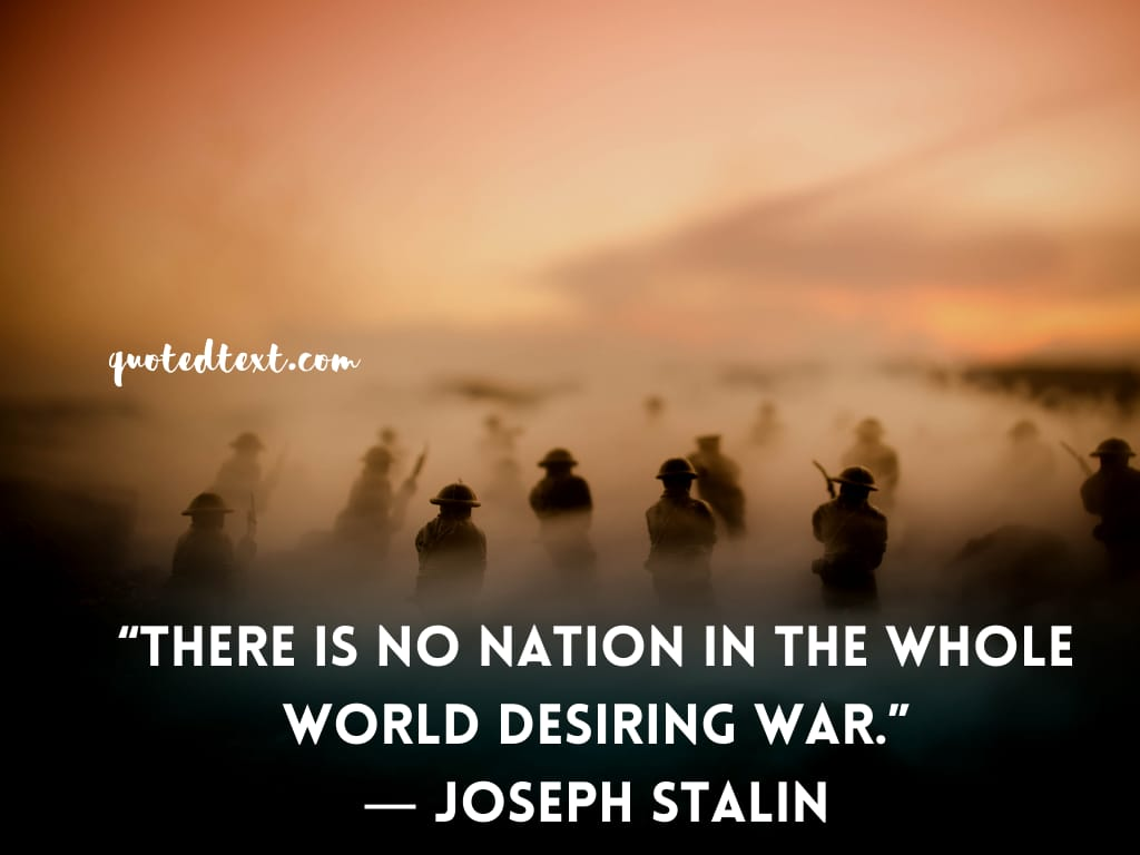 Joseph Stalin quotes on nation