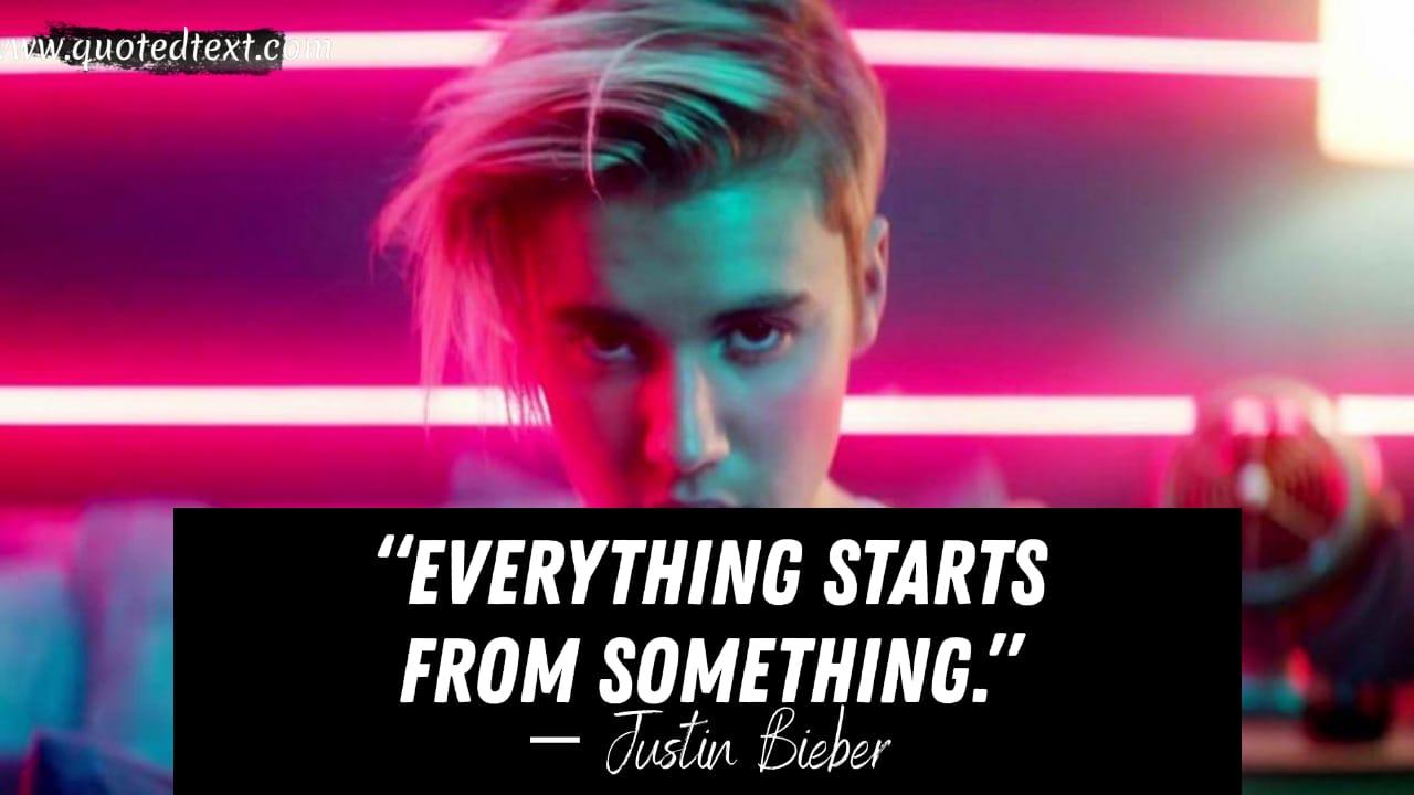 Justin Bieber Inspirational quotes