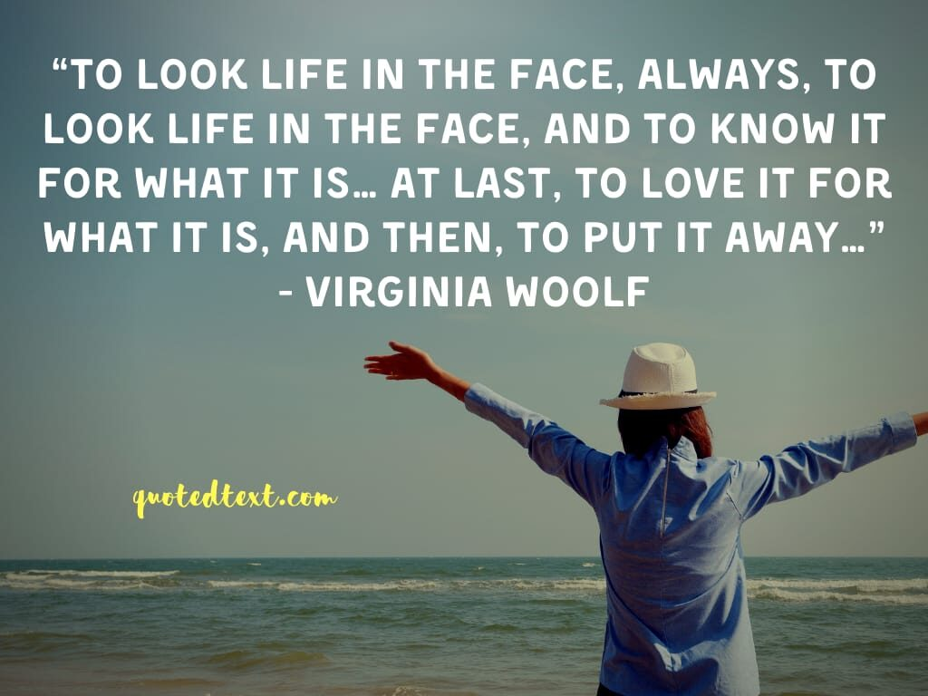 Virginia Woolf quotes on life and love