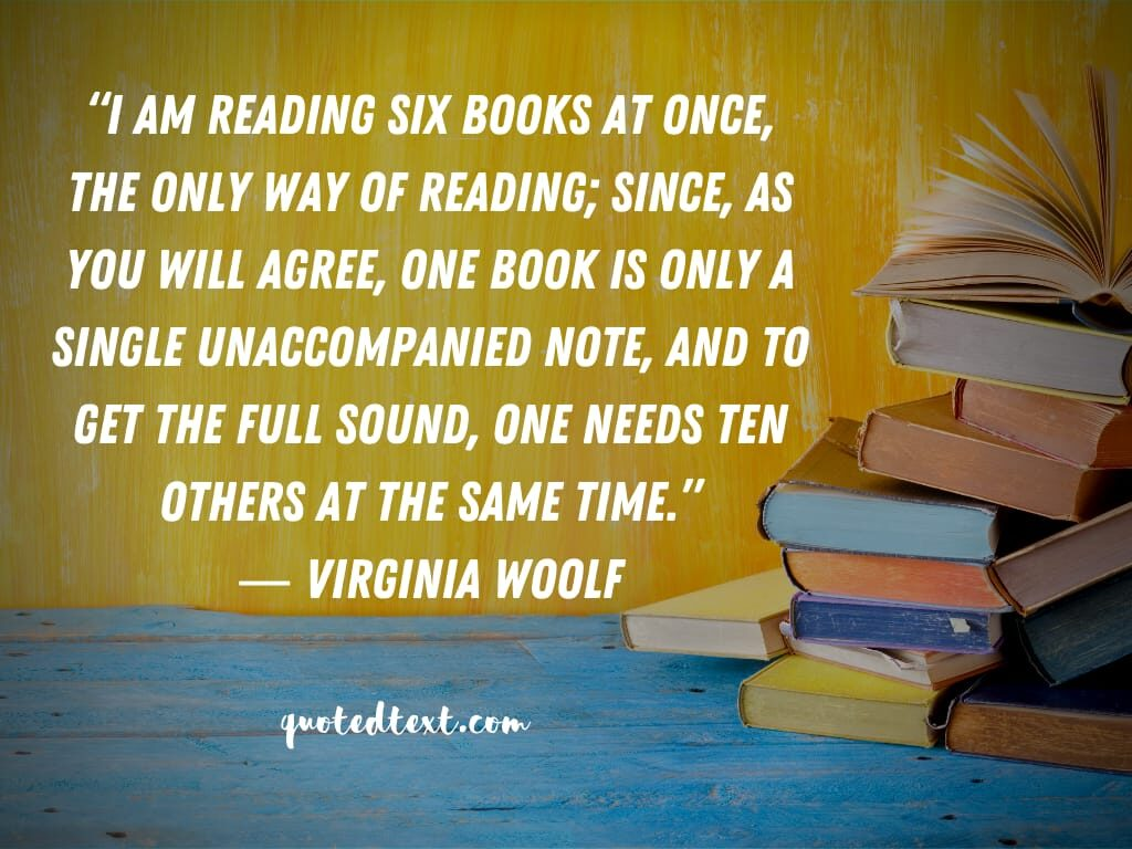 Virginia Woolf quotes on reading