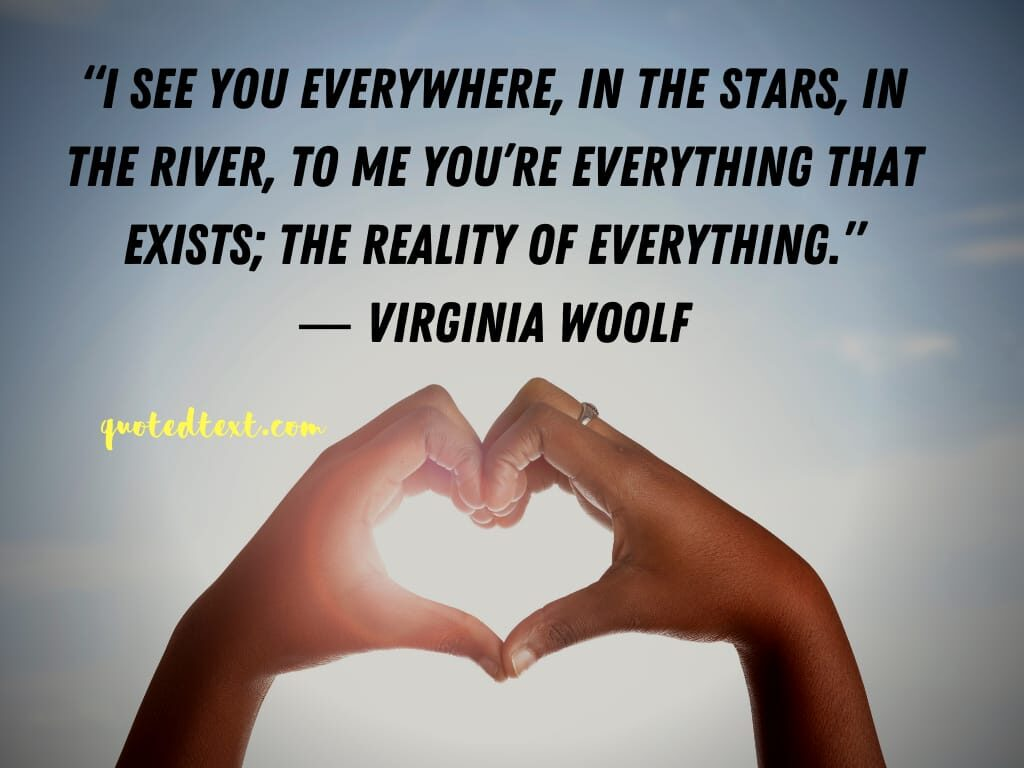 Virginia Woolf quotes on reality