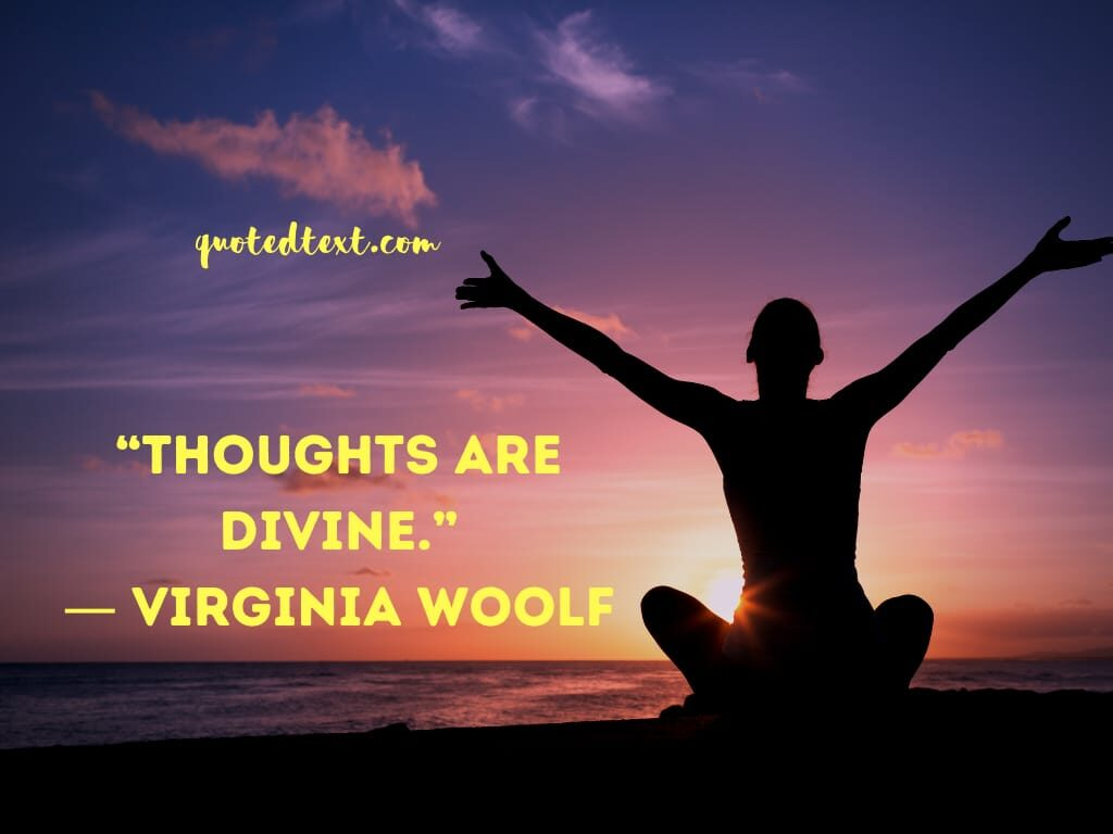 Virginia Woolf quotes on thoughts