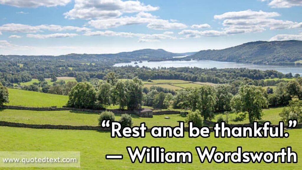 William Wordsworth quotes on