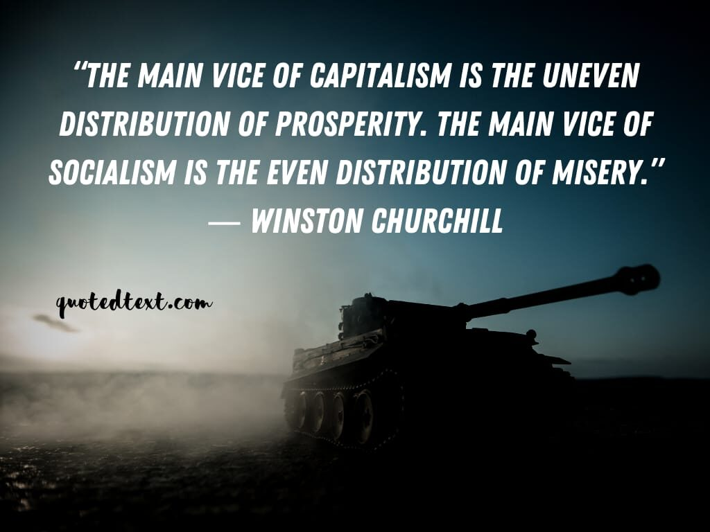 Winston Churchill quotes on capitalism