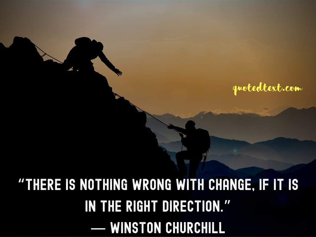 Winston Churchill quotes on change