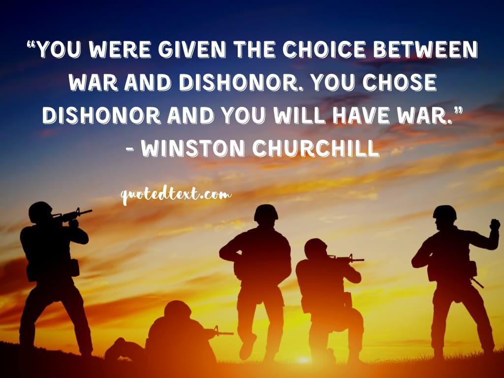 Winston Churchill quotes on choice