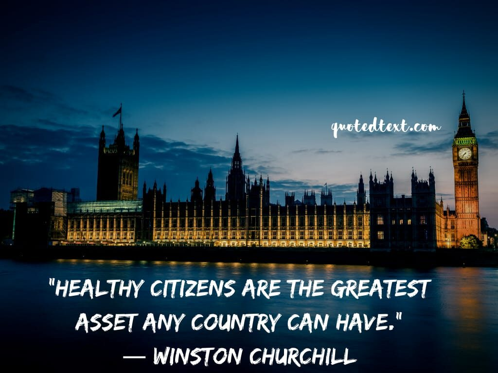 Winston Churchill quotes on country