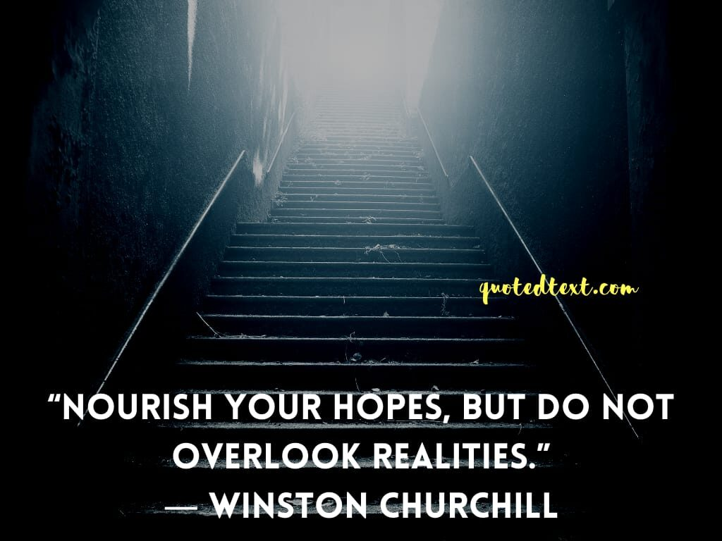 Winston Churchill quotes on hope