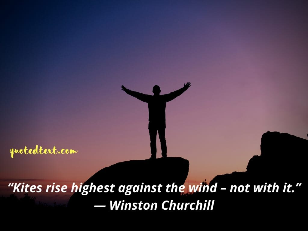 Winston Churchill inspirational quotes