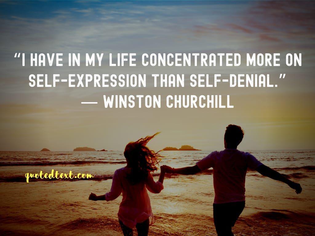 Winston Churchill quotes on life