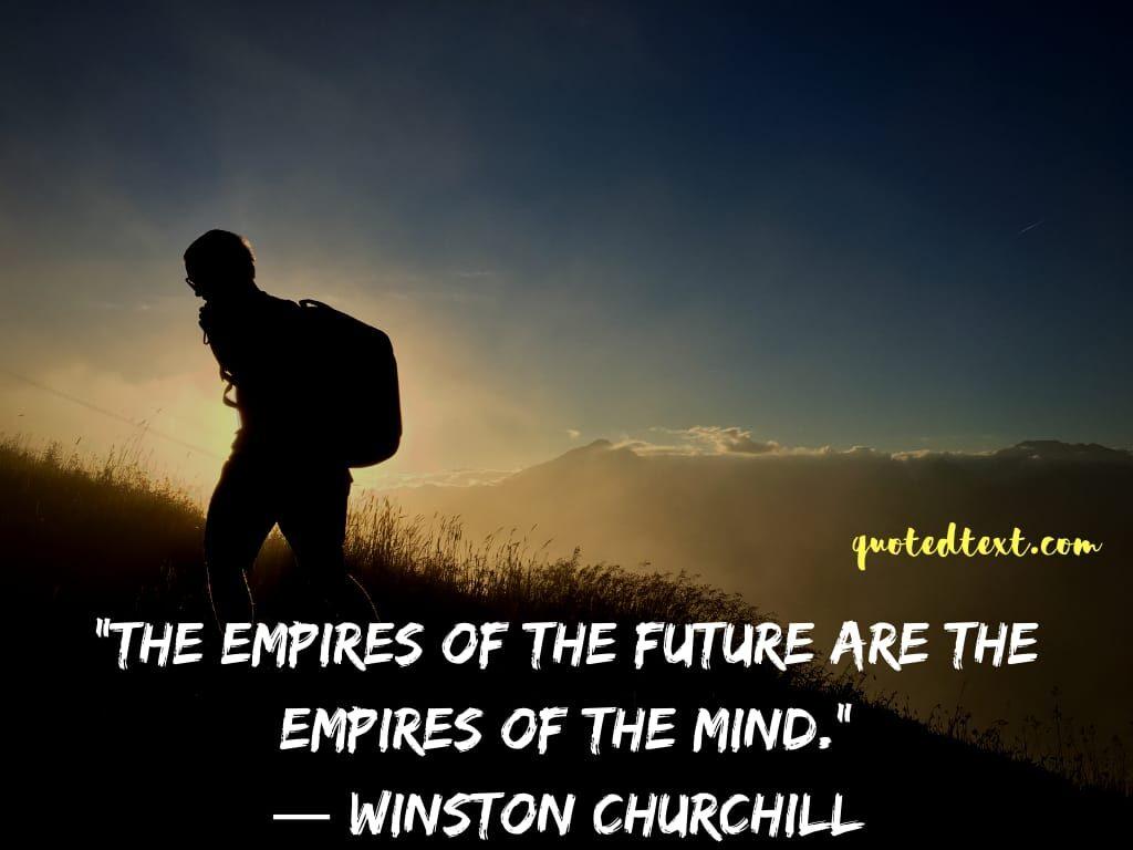 Winston Churchill quotes on mind