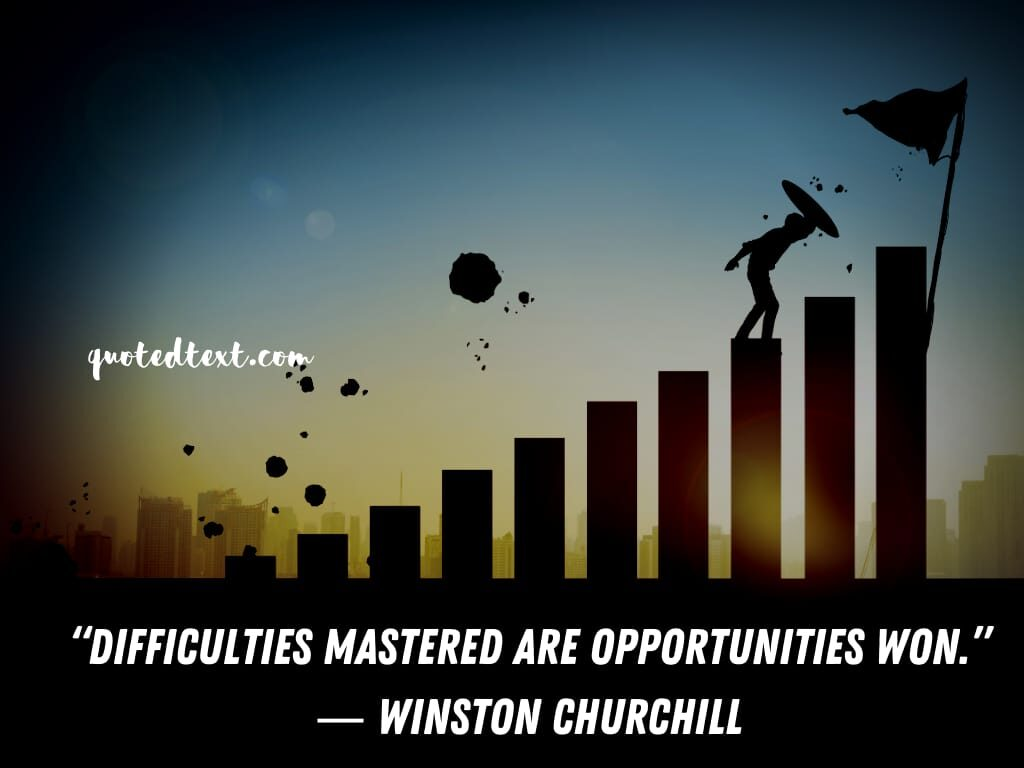 Winston Churchill quotes on opportunities